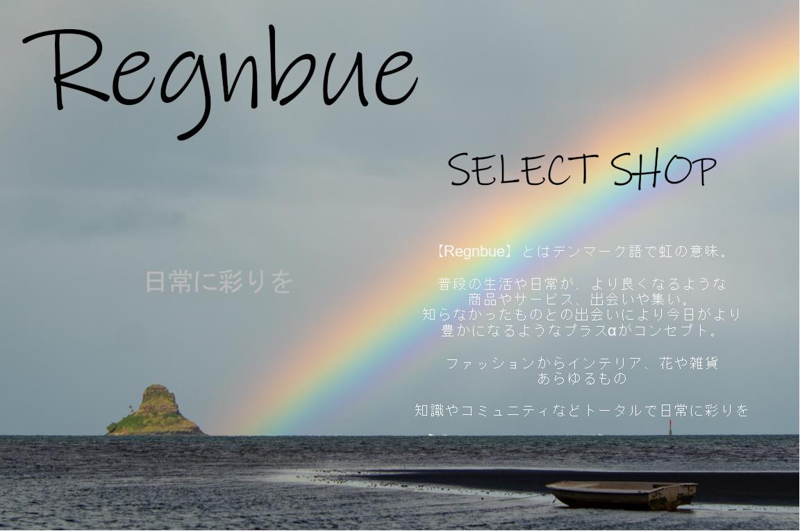 Regnbue レグンブー ~日常に彩りを~ ファッション 古着 花 雑貨 インテリア 小物 etc販売 江戸川区瑞江
